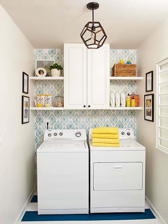 laundry wallpaper