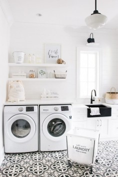 pattern tile laundry